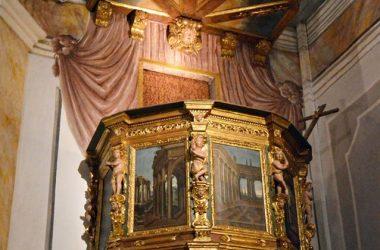 Immagini interno Chiesa di san Rocco Albino