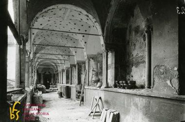 Immagini restauro Convento di San Francesco Bergamo