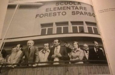 Inaugurazione Scuole Elementari Foresto Sparso
