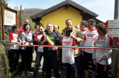 Inaugurazione Sentiero del Crinale a Palazzago