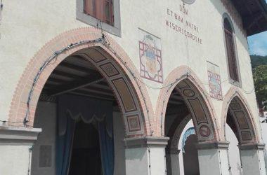 Ingresso Santuario Madonna dello Zuccarello - Nembro