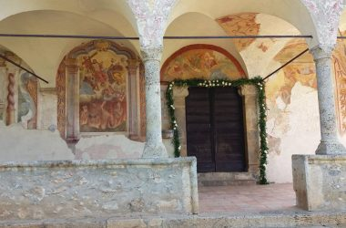 Ingresso Santuario Santissima Trinità - Parre