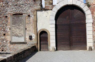 Ingresso castello di Cavernago