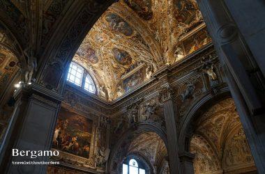 Inside the Basilica di Santa Maria Maggiore