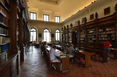 Interno Biblioteca Civica Angelo Mai Bergamo