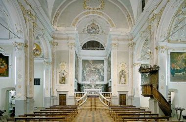 Interno Cappella dell'Annunciata, Cerete Alto
