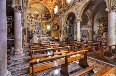 Interno Chiesa Fino del Monte