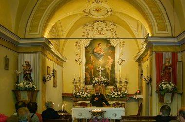 Interno Chiesa Madonna della Neve a Branzi