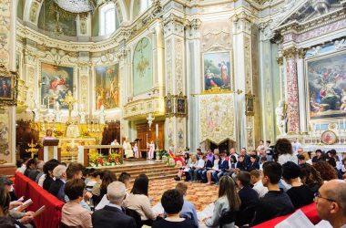 Interno Chiesa Parrocchiale Sant'Andrea Apostolo - Suisio