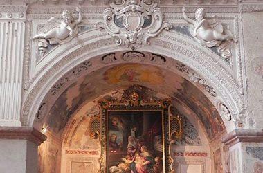 Interno Chiesa Santa Maria della Consolazione- Almenno San Salvatore