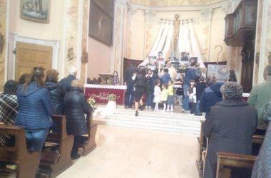 Interno Chiesa di Luzzana
