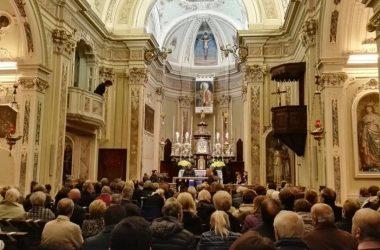 Interno Chiesa di San Gregorio Cisano Bergamasco