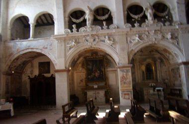 Interno Chiesa di San Nicola Almenno San Salvatore