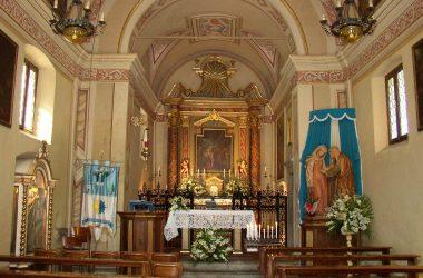 Interno Chiesa di Santa Elisabetta di Valbondione