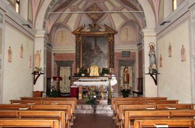 Interno Chiesetta di Rova - Gazzaniga