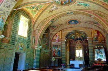 Interno Pradalunga - Bergamo - santuario Forcella