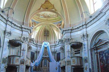 Interno Santuario Madonna della Costa