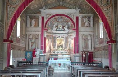 Interno Santuario Madonna dello Zuccarello - Nembro