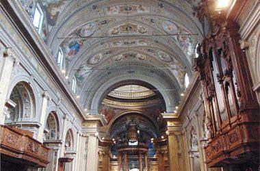 Interno Santuario Santa Maria del Fonte Caravaggio