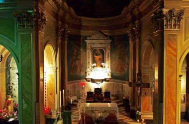 Interno Santuario della Madonna delle rose - Albano Sant'Alesandro