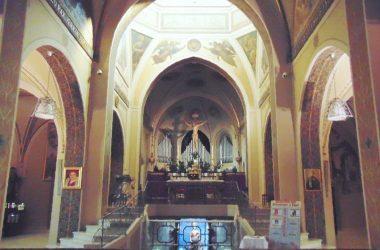 Interno Urgnano Bergamo Santuario Beata Vergine della Basella