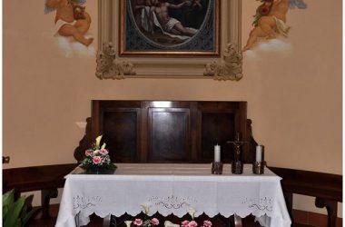 Interno chiesetta della frazione Benago Sedrina