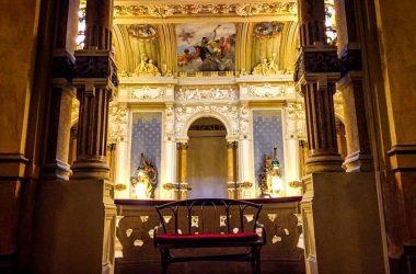 Interno del Casinò di San Pellegrino Terme