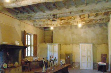 Interno del Castello di Pagazzano