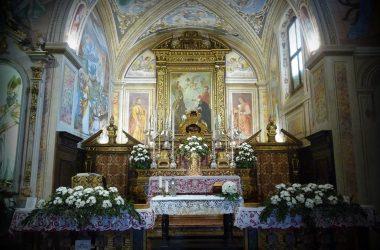 Interno di San Patrizio Colzate