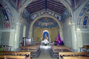 Interno santuario Madonna della Scopa Osio Sopra