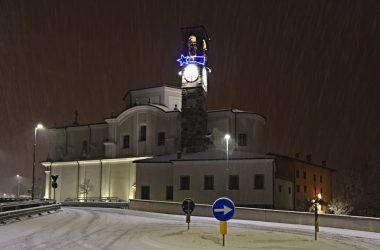 Inverno Chiesa di Cene