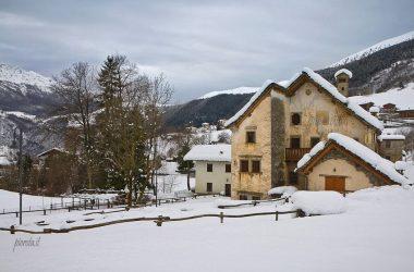 Inverno Contrada Arnosto - Fuipiano Valle Imagna