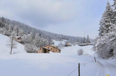 Inverno in Valpiana Gandino