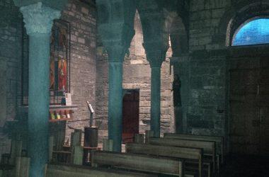 L'ombra della navata Abbazia di Fontanella a Sotto il monte Giovanni xxiii