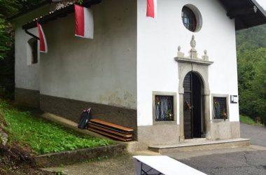 La Chiesa di San Rocco - Peia