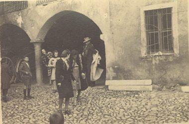 La Ela in filanda Gazzaniga 1939