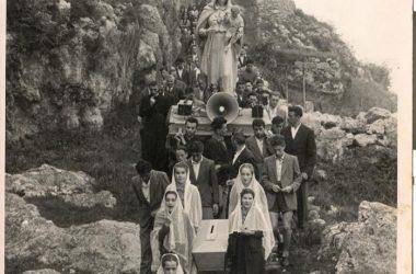 La Madonna Pellegrina a Castro 1950