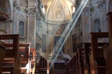 La chiesa antica di Scanzorosciate