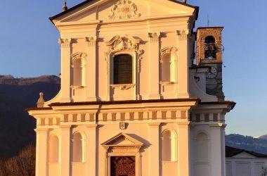 La chiesa di Cene