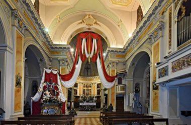La chiesa di Dossena