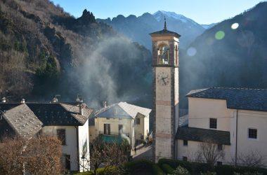 La chiesa di Ornica