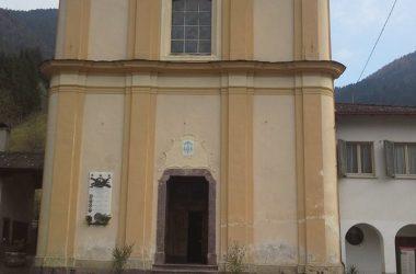 La chiesa di Piazzolo