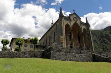 La chiesa di piazza brembana & lenna