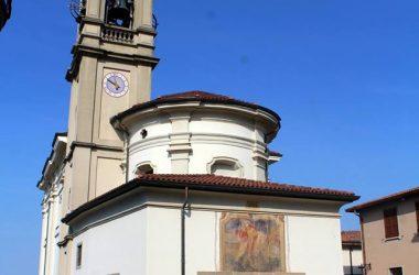 La chiesa parrocchiale di San Giorgio in Solza
