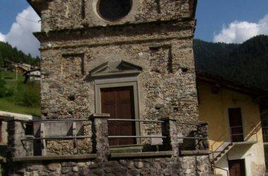 La chiesetta dei Tezzi Alti Gandellino