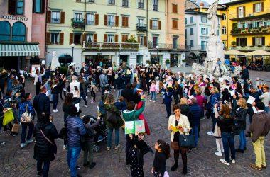 La piazza di Lovere