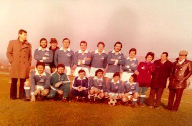 La prima squadra del GORLE anni 70