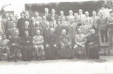 La schola cantorum di Castro nel 1962