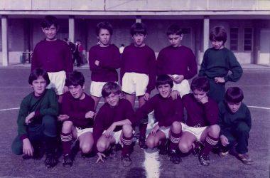 La storica formazione dell'Oratorio:Acli Calcio Albino che vinse il titolo provinciale Esordienti a 7