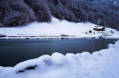 Laghetto Corrado con la Neve